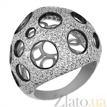 Кольцо из белого золота с родированием Эрида VLT--ТТ164