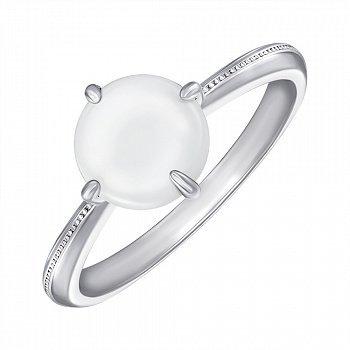 Кольцо серебряное с керамикой 000147852