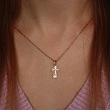 Золотой крестик Добрый пастырь