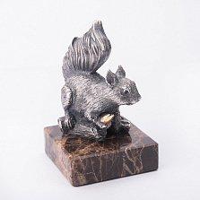Серебряная статуэтка ручной работы Белкина добыча