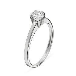 Кольцо из белого золота с бриллиантами Ирида