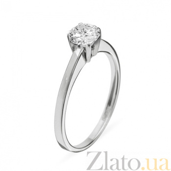 Кольцо из белого золота с бриллиантами Ирида R 0284/бел