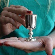 Серебряная рюмка Благородный напиток, 30мл