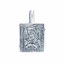 Серебряная ладанка Хранительница