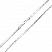 Серебряная цепочка Панцирная, 2,8мм