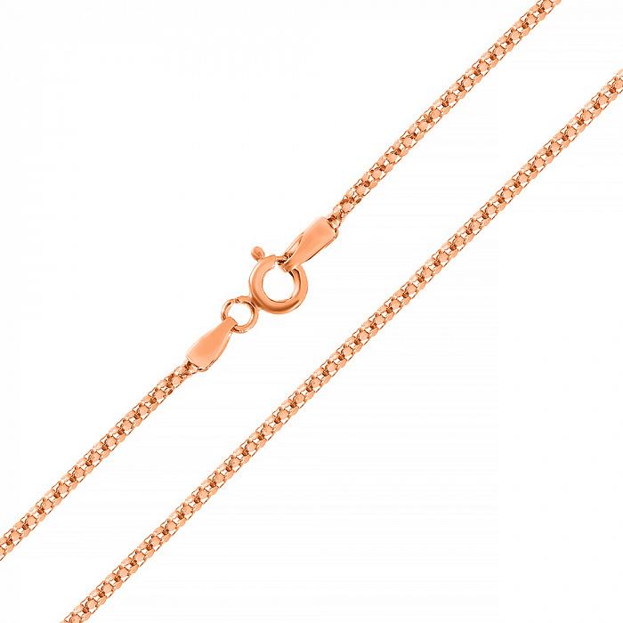 Серебряная цепь Виргиния с позолотой 000030848