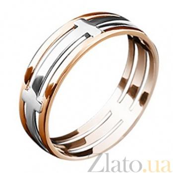 Золотое обручальное кольцо Романс KBL--К1830/комб