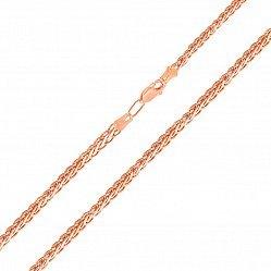 Золотая цепочка в красном цвете с алмазной гранью, 2,75 мм 000117335