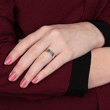 Серебрянное кольцо Молитва Николаю Чудотворцу