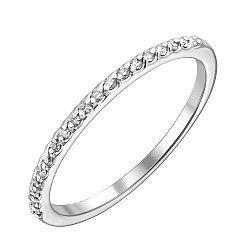 Кольцо из белого золота с бриллиантами 000132154