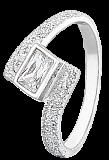 Серебряное кольцо с цирконием Резарта