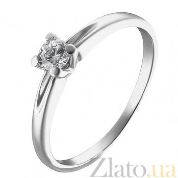 Кольцо из белого золота Эллада SUF--140481б