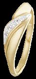 Кольцо из серебра с фианитами Сотирия