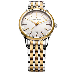 Часы Maurice Lacroix с позолотой коллекции Les Classiques Gents date 000012704