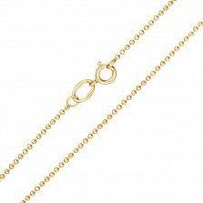 Цепочка из желтого золота Ассоль, 1мм