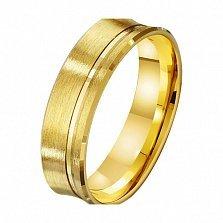 Золотое обручальное кольцо Свет жизни