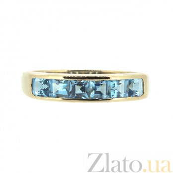 Кольцо в красном золоте с топазами Меган ZMX--RT-6121_K