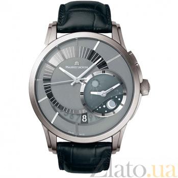 Часы Maurice Lacroix коллекции  Decentrique GMT MLX--PT6108-TT031-291
