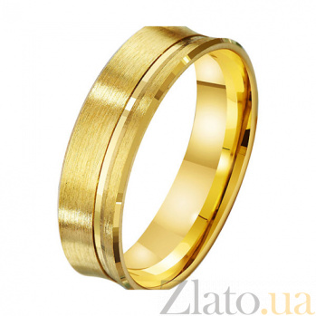 Золотое обручальное кольцо Свет жизни TRF--431577