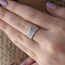 Серебряное кольцо Хион с фианитами