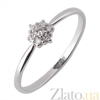 Кольцо из белого золота с бриллиантами Снежинка TRF--1221632н/брил