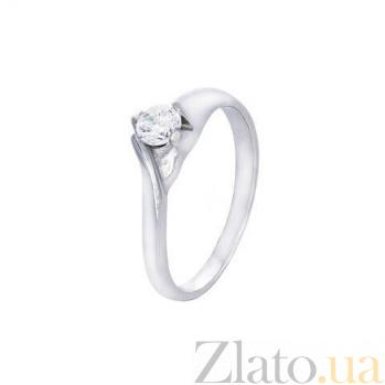 Кольцо на помолвку серебряное AQA--71235б