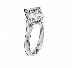 Золотое кольцо с бриллиантом Афродита