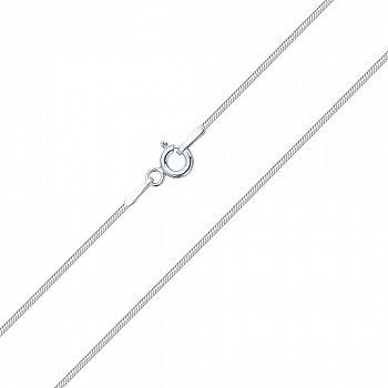 Золотая цепочка в белом цвете 000101596