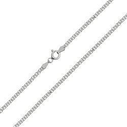 Серебряная цепочка с родированием 000039331