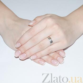 Золотое обручальное кольцо с бриллиантом Зов сердца TRF--4421047н