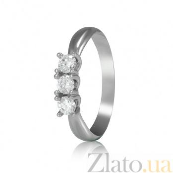 Золотое кольцо с бриллиантами Джеки EDM-КД7534/1