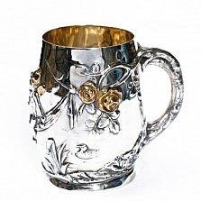 Серебряная чашка Ангелочки