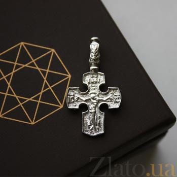 Серебряный крест Исцеление 000032484