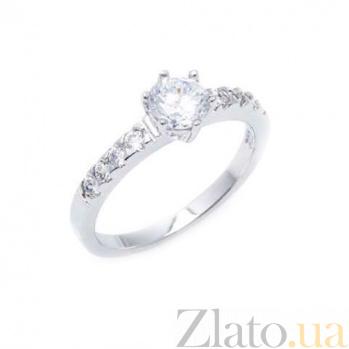 Серебряное кольцо для помолвки AQA-JR-2589
