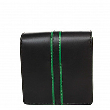 Клатч Italian Bags 1721_black Кожаный Черный