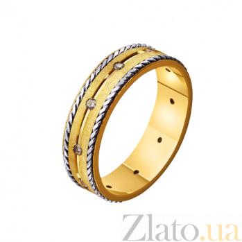Золотое обручальное кольцо Романтичный исход TRF--4421595