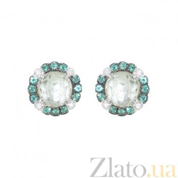 Серебряные серьги Джоанна 3С934-0082