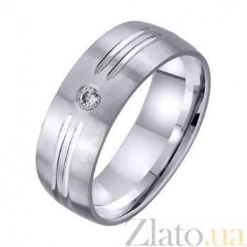 Золотое обручальное кольцо Любовь навсегда TRF--4221722