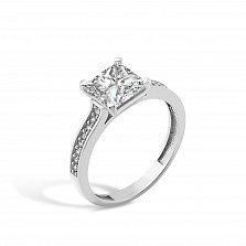 Серебряное кольцо Нелли с фианитами