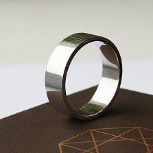 Обручальное серебряное кольцо Единое целое