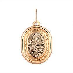 Ладанка из красного золота 000141339