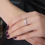 Серебряное кольцо с фианитами Джейн