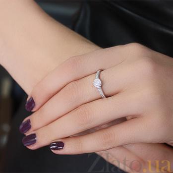 Серебряное кольцо с фианитами Джейн PTL--7к700/01