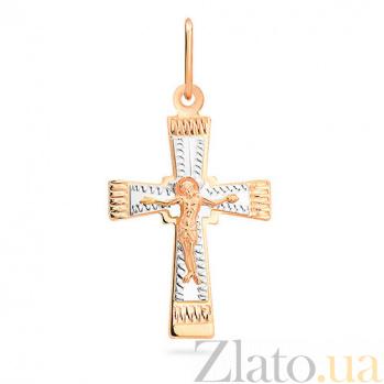 Золотой крестик Покровительство SUF--529402