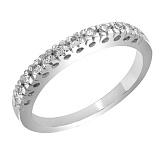 Кольцо из белого золота Иоланта с бриллиантами