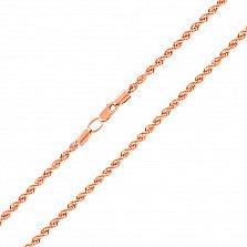 Золотая цепочка Кассиопея, 2,5мм
