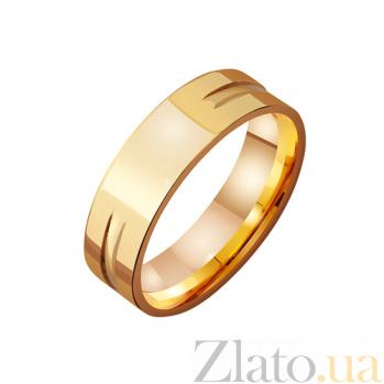 Золотое обручальное кольцо Семейный союз TRF--4111351