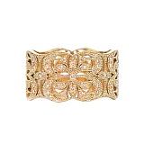 Золотое кольцо с сапфирами Елизавета