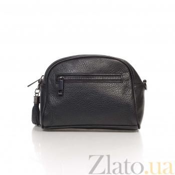 Кожаный клатч Genuine Leather 1828 черного цвета/14 х 19 х 10 см 000092560