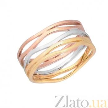 Серебряное кольцо Линии жизни 000028034